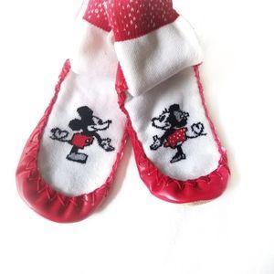 Disney × Hanna Andersen Mickey Minnie moccasins 12